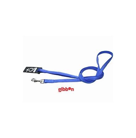 Hundkoppel Nylon m reflex 20 mm x 180 blått, Gibbon
