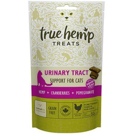 Kattgodis True Hemp urinary tract naturgodis 50 g, Trueleaf