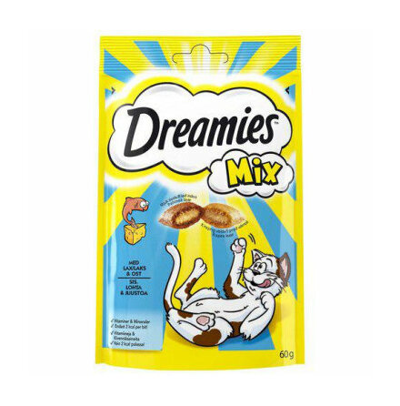 Kattgodis Dreamies, 60 g