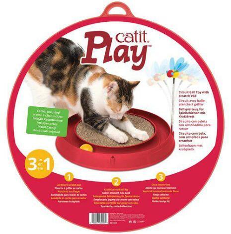 Kattleksak Play´n Scratch, olika färger, CatIt