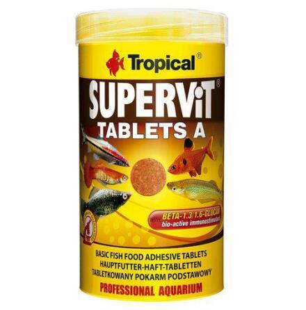 Supervit tablets A, 250 ml/150 g/240 st, Tropical