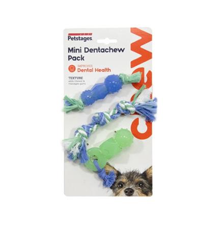 Hundleksak Mini dentachew pack, Petstages