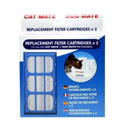 Utbytesfilter till vattenautomat 2 p, CatMate