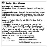 Tetra Pro Meny 250ml