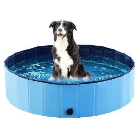 Dogpool, hundpool 80x20 cm, blå, Ozami