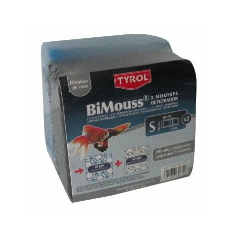 Filterblock/svamp fin+grov 10/30 ppi 10x10x5cm