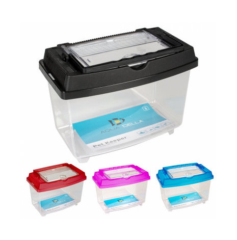 Transportbox fisk/smådjur ca 1 liter 20x12x15 cm