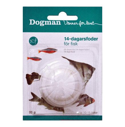 14 dagarsfoder Dogman 25 g