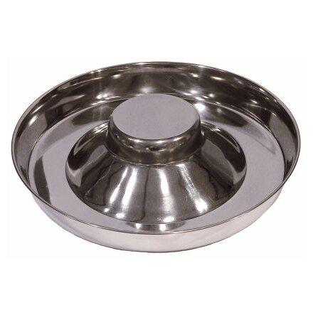 Matskål valp metall 4 cm hög 28 cm diameter