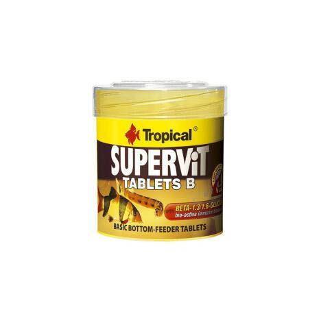 Supervit Tablets B 50ml/36g, Tropical