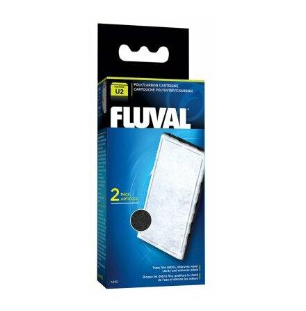 Kol/Polyester filterpatron U2 Fluval